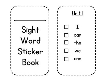 McGraw-Hill Wonders Sight Word Sticker Book by The