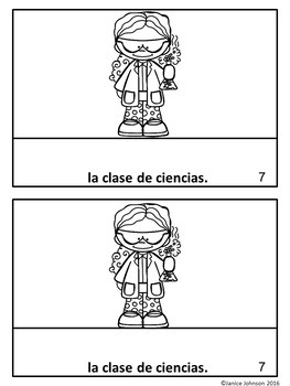 Me gustan mis clases Spanish Verb Gustar School Classes