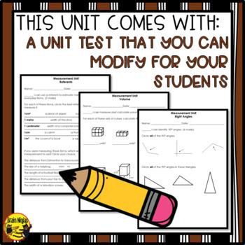 Measurement Interactive Notebook Grades 4-5 by Brain