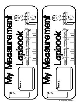 Measurement Lapbook Interactive Kit: Customary & Metric