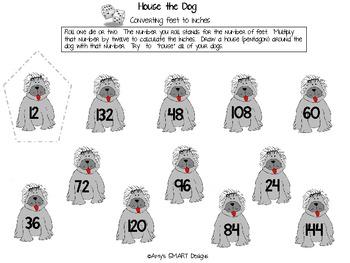 Measurement: Top Dog Measurement Games: NonSMARTBoard