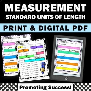 Standard Units of Measurement Comparing Length Measurement Activities Grade 2
