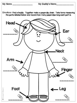 Measurement for Primary Learners: Pre-K, Kindergarten, and