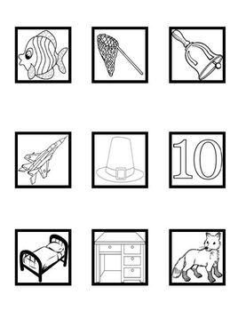 Medial Short Vowel (CVC) Color, Cut, and Paste Worksheets