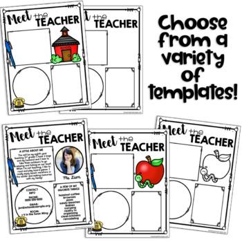 Meet the Teacher Template EDITABLE (Meet the Teacher