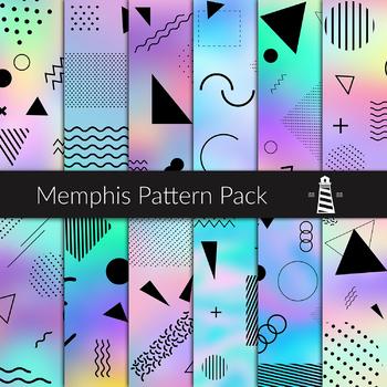 memphis pattern pack 80s