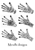 Mendhi ~ Islamic hand decoration info. guide and craft