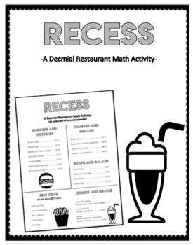 Math Worksheets Fil A Restaurant. Math. Best Free