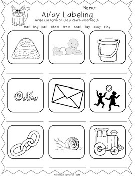Vowel Digraphs Activities Pack by Journey of a Substitute