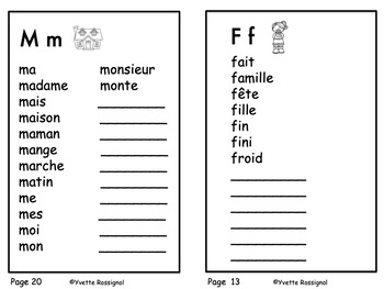 Mes Mots! Dictionnaire personnel, French Personal