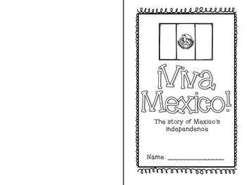 Mexico Independence Day Mini Book and Activities by Lucia