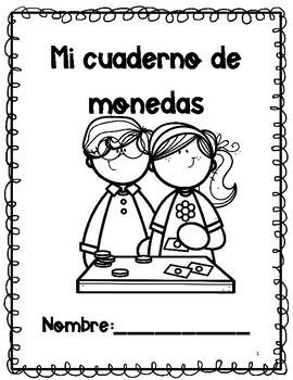 Mi cuaderno de monedas [Spanish coins book] by Bilingual