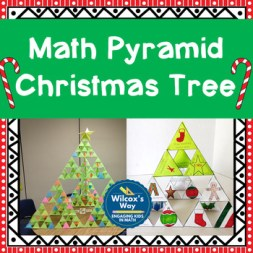 Middle School Christmas Tree Math Activity