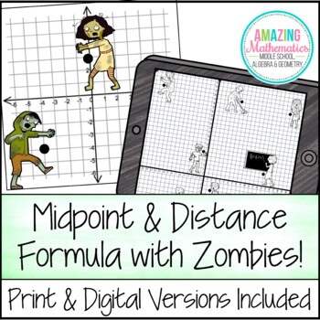 Midpoint & Distance Formula Activity by Amazing