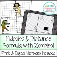 Midpoint & Distance Formula Activity by Amazing ...
