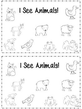 Mini Unit for Brown Bear Brown Bear What Do You See by Mrs