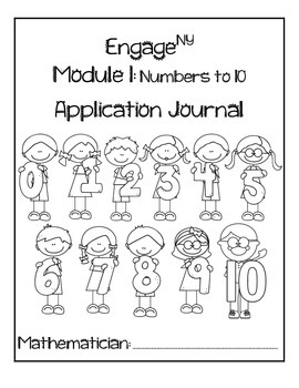 Kindergarten Module 1 Application Journal by Mooving