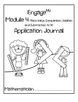 First Grade Eureka Math (Engage NY) Module 4 Application