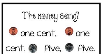 Money Bulletin Board, Penny, Nickel, Dime, Quarter, Poem