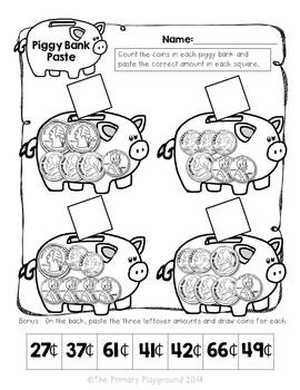 Money, Money, Money! Second Grade Common Core Money
