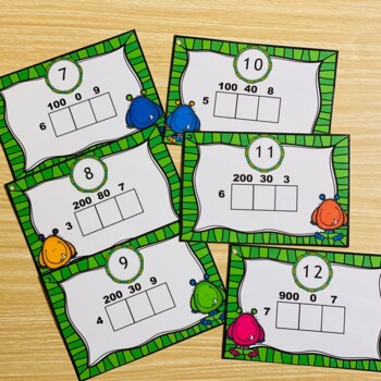 Multiplication Area Model Scoot Math Game by Kelly Malloy