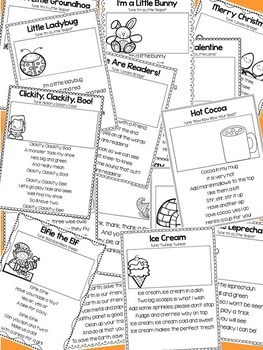 Monthly Poems and Songs for the Whole School Year by Miss
