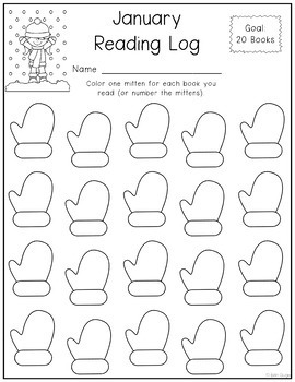 Monthly Reading Logs (Different Levels/5 Versions) by Erin