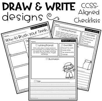 Monthly Writing Prompts FREEBIE Sample! by Bite-Size