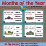 Esl Games Months Of The Year By Busy Bee Studio Tpt