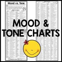 Mood vs. Tone Tutorial Reading Comprehension Worksheet ...