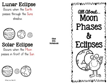 Moon Phase & Eclipses Inter... by Mixing it up in Middle