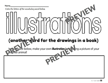 More Library Skills Printable Worksheets for Kindergarten