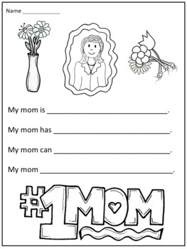 Mother's Day Writing Activities by Christian Learning