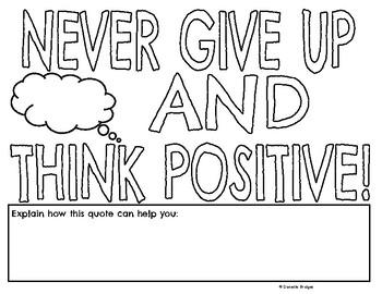 Motivational Journal/Color Quotes: Digital/Printable