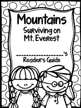 Mountains: Surviving on Mt. Everest Journey's Activities