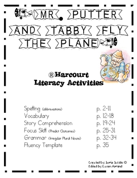 Mr. Putter and Tabby Fly the Plane (Supplemental Materials