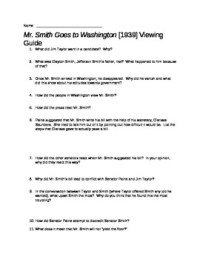 Mr. Smith Goes to Washington Movie Guide by The Chronicler ...