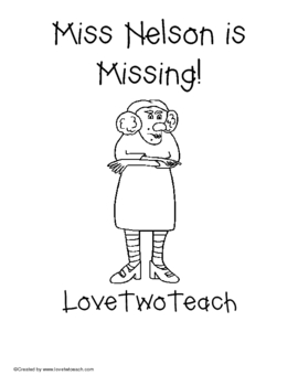 Mrs. Nelson is Missing Literacy and Math Centers by