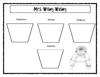 Mrs. Wishy Washy Story Map by Mr Gibbs Colorful Creations