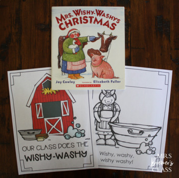Mrs. Wishy-Washy's Christmas {a book study} by Anita