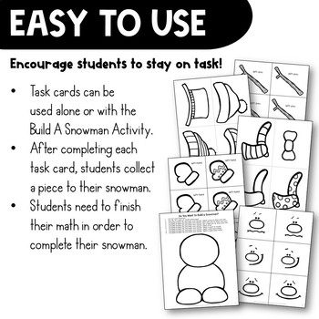 Multiple Step Word Problems Task Card Math Center