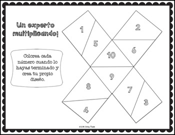 Multiplication, Arrays, and Repeated addition (Spanish