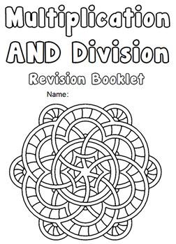 Multiplication & Division Booklet Worksheets Speed Tests