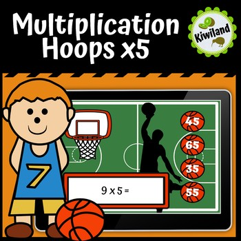multiplication division hoops x5