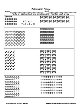 Multiplication Facts X7 Practice Activities By Jan Lindley