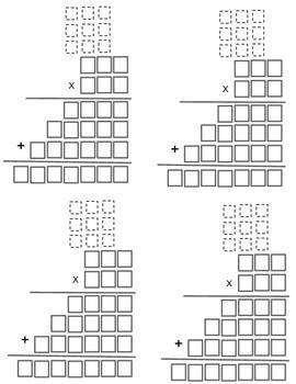Multiplication Graphic Organizer 3 Digit x 3 Digit Numbers