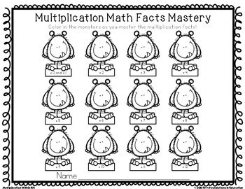 Multiplication Timed Tests by Firm Foundations in