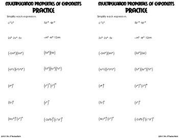Multiplication Properties o... by Mrs E Teaches Math