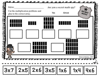 Multiplication: Repeated Addition and Arrays by Alecia