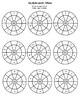 Multiplication Wheel, blank multiplication table by